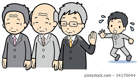 retirement, business man, businessperson 34170044