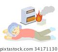 爐子 暖爐 圍爐 34171130
