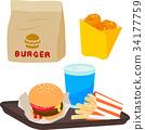 burger, burgers, hamburger 34177759