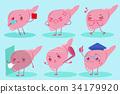 cute cartoon liver 34179920