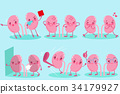 cute cartoon kidney 34179927
