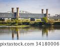 bridge, poland, river 34180006