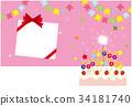 postcard, birthday, birthdays 34181740