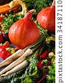 秋天 秋 蔬菜 34187110