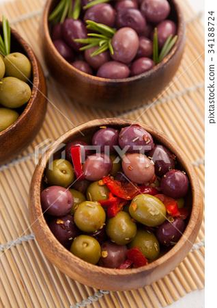 Full frame shot of olives 34188724