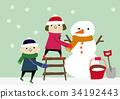 snowman, snowmen, snowy 34192443