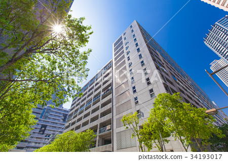 公寓 高層公寓 高層公寓大樓 34193017