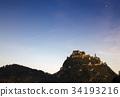 Medieval Hochosterwitz Castle,Carinthia,Austria 34193216