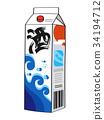 Paper pack liquor 34194712