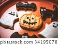 halloween, cookie, confectionery 34195078