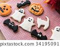 과자, 쿠키, 박쥐 34195091