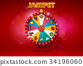 wheel fortune spin 34196060