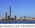 고층빌딩, 서울, 여의도 34206000