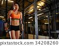 Crossfit training 34208260