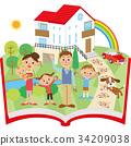 书籍 书 书本 34209038