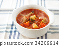 minestrone soup soups 34209914