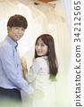 婚紗店,婚紗,新婚夫婦,婚姻準備 34212565