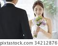 감정, 꽃, 뒷모습 34212876