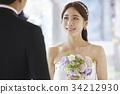 감정, 꽃, 뒷모습 34212930