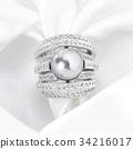 ring, rings, black pearl 34216017