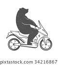 scooter, vintage, biker 34216867