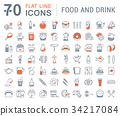 icon, line, drink 34217084