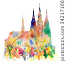 Cathedral of Saint Vitus in the Prague Castle 34217166