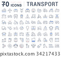 icon, transport, transportation 34217433
