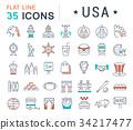 usa, america, icon 34217477