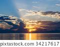 미야코 섬, 미야코지마, 아침 해 34217617