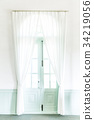 แสง เบา,หน้าต่าง,ผ้าม่าน 34219056