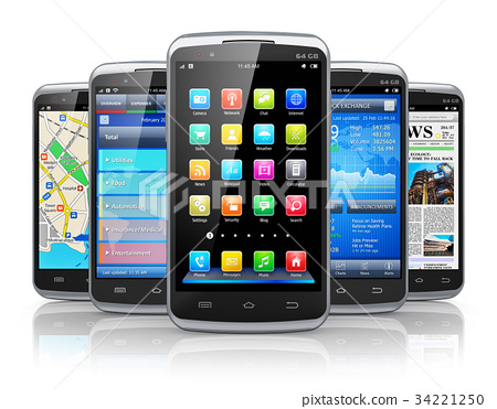 Smartphones and applications 34221250