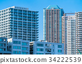 high-rise apartment building, City View, cityscape 34222539