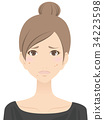 female, lady, woman 34223598
