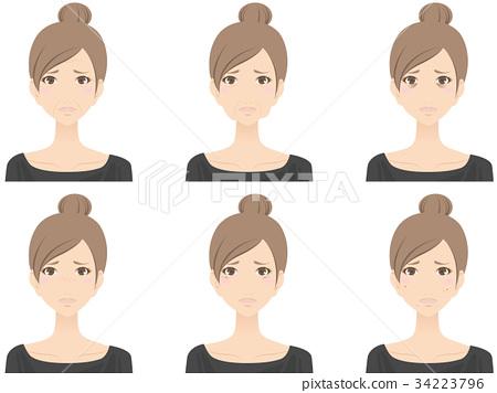 female, females, woman 34223796