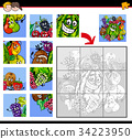 jigsaw puzzles with fruits characters 34223950