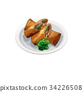 中式料理 中餐 中式小點 34226508