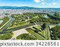 五棱郭 風景 北海道 34226561