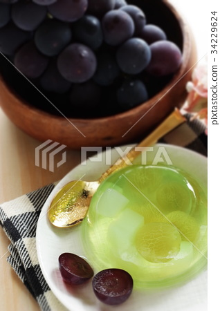 Seeds of Yamanashi Prefecture, Kyouho and nata de coco jelly