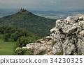 Hohenzollern castle near Hechingen in Germany 34230325