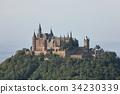 Hohenzollern castle near Hechingen in Germany 34230339