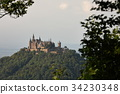 Hohenzollern castle near Hechingen in Germany 34230348