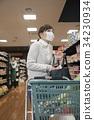 ลักของในร้านค้า,อาชญากรรม,ผู้หญิง 34230934