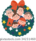 圣诞节 耶诞 圣诞 34231460