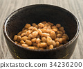 natto, fermented soybeans, fermented food 34236200
