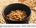 納豆 發酵大豆 發酵食品 34236204
