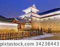 Gate of Kanazawa Castle 34236443