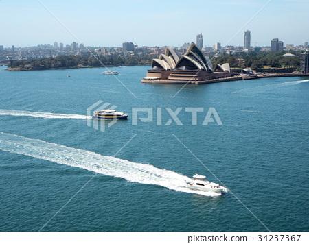 ออสเตรเลีย,มหาสมุทร,ท้องฟ้าเป็นสีฟ้า 34237367