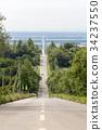 hokkaido, road, clear 34237550