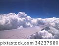 air plane, airplane, sky 34237980
